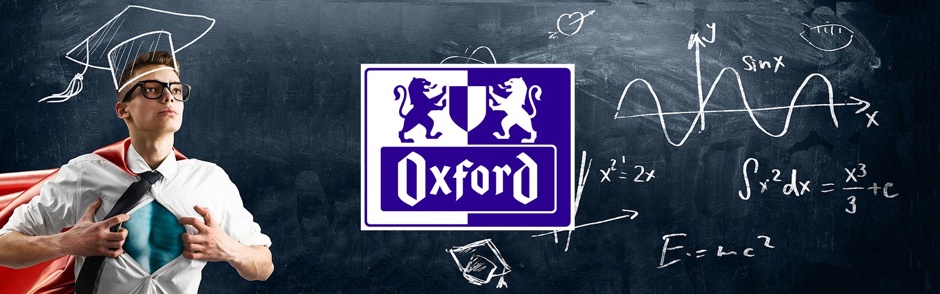 Oxford Brand, Power in your Hands